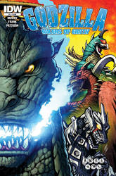 Rulers of Earth - Cover A by KaijuSamurai