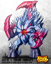 Kaiju Combat - CryX by KaijuSamurai