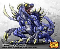 Colossal Kaiju Combat - Kagiza by KaijuSamurai