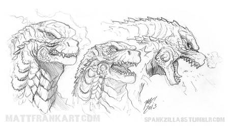 Godzilla 2014 - This time with feeling by KaijuSamurai