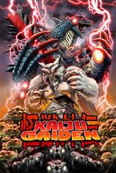 Kaiju Gaiden poster - updated! by KaijuSamurai