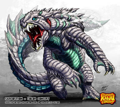 Colossal Kaiju Combat - Sarcosteon by KaijuSamurai