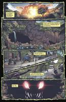 Godzilla Rulers of Earth #18 pg 1 by KaijuSamurai