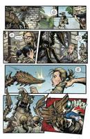 Godzilla Rulers of Earth #18 pg 3 by KaijuSamurai