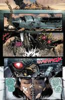 Godzilla Rulers of Earth #19 pg 3 by KaijuSamurai