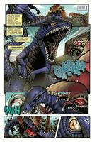 Godzilla Rulers of Earth #22 pg1 by KaijuSamurai
