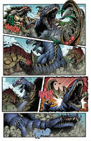 Godzilla Rulers of Earth #22 pg2 by KaijuSamurai