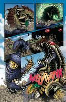 Godzilla Rulers of Earth #22 pg3 by KaijuSamurai