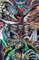50 Years of Gamera by KaijuSamurai