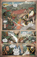 Godzilla Rage Across Time #1 pg 1 by KaijuSamurai