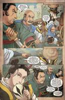Godzilla Rage Across Time #1 pg 3 by KaijuSamurai