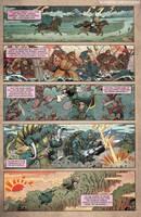 Godzilla Rage Across Time #1 pg 4 by KaijuSamurai