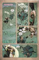 Godzilla Rage Across Time #1 pg 5 by KaijuSamurai