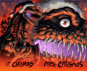 Merr Chrismas by KaijuSamurai