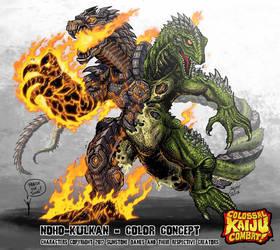 Colossal Kaiju Combat - Nohokulkan by KaijuSamurai