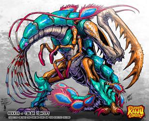 Colossal Kaiju Combat - Rekker by KaijuSamurai