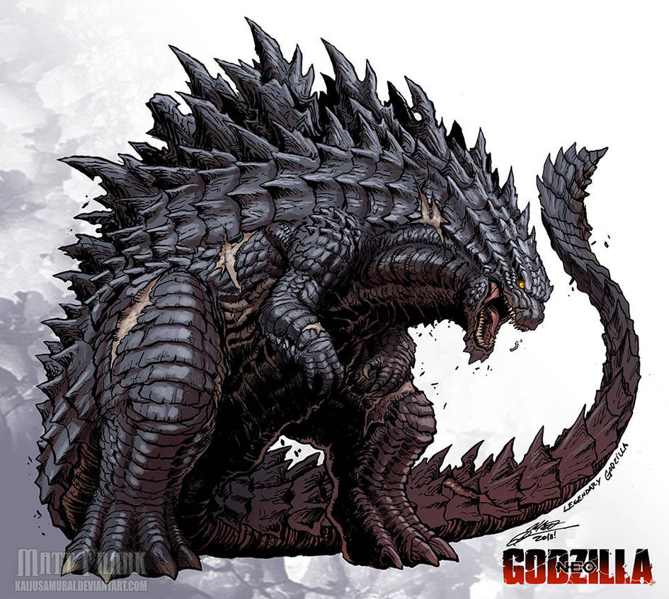 LEGENDARY GODZILLA By KaijuSamurai On
