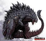 Godzilla Neo - LEGENDARY GODZILLA by KaijuSamurai