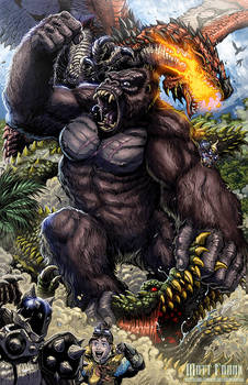 KONG King of the Monster Hunters! by KaijuSamurai