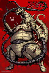 REDMAN Kaiju - Gudon by KaijuSamurai