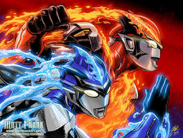 Ultraman RB by KaijuSamurai