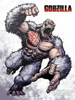 Godzilla Neo - SON OF KONG by KaijuSamurai