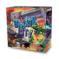 SMASH CITY Board game by WizKids by KaijuSamurai