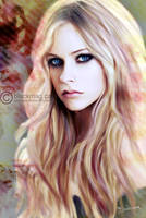 Avril Lavigne Painting by perlaque