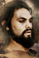 Drogo Painting by perlaque