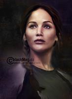 Katniss Everdeen by perlaque