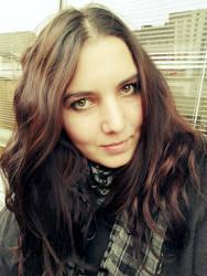 profile photo, winter by perlaque
