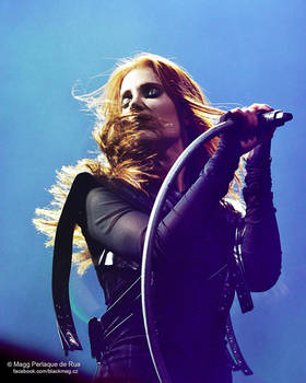 Epica live Prague forum Karlin 28-02-2017 by perlaque