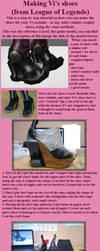 Vi League of Legends Shoes Tutorial by ShinjusWorkshop