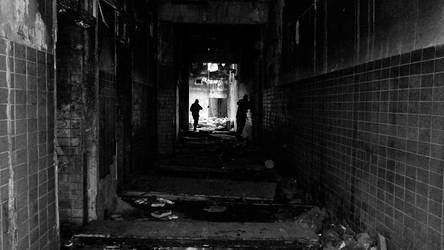 dark passage by Bastiensburg