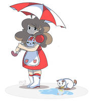 Bee and Puppycat by DoodleDone