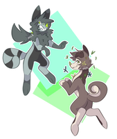 Gift-art! / Chimereons by DoodleDone