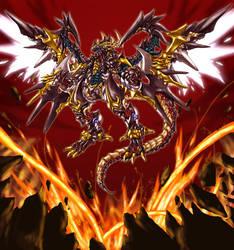Dark Kaiser Dragon by pamansazz