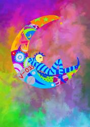 -The moons mechanic-El mecanico de lunas-Justcolor by Inkolored