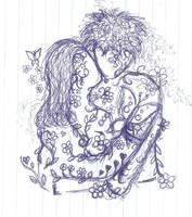 couple by orphirin