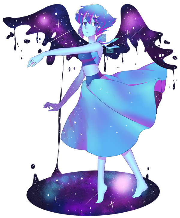 Inspired by miu pachi's PMMM series. Wanted to do more Steven Universe fanart, so here it is! Miss Lapis Lazuli 💧 💧 💧 💧 I'll be drawing a few more of these soon. Thi...