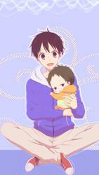 Wallpaper - Gakuen Babysitters by Haanakko