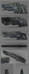 Battle rifle concept by peterku