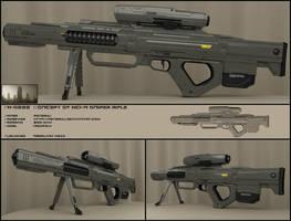 F5000 sniper rifle by peterku