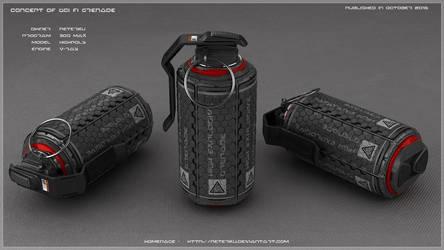 Grenade concept by peterku