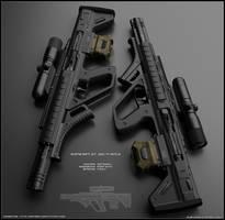 B-rifle by peterku