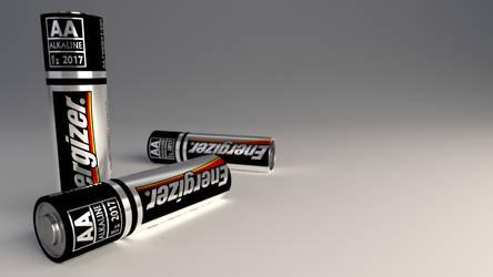 AA Energizer Battery by RegusMartin
