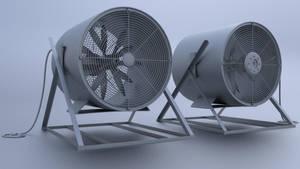 Industrial Fan by RegusMartin