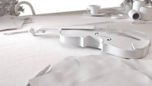The Violin - Clay by RegusMartin