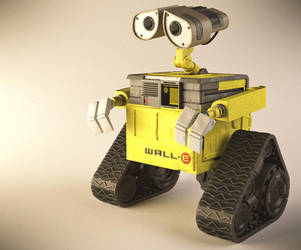 Wall-E by RegusMartin