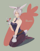 League of Legends - Riven by Foliummori